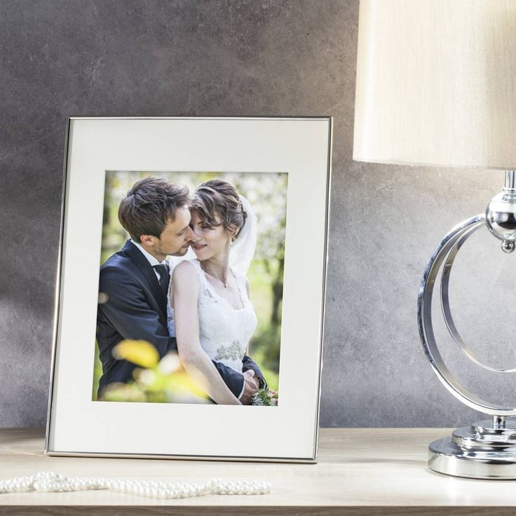 #ramka #photo #picture #frames #family #decoration #home #dekoracje Ramka Amanda 28x2x36cm silver, 28x2x36cm - Dekoria