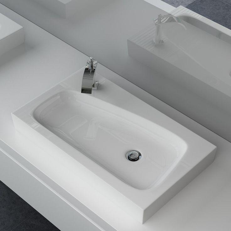 Die besten 25+ Handwaschbecken gäste wc Ideen auf Pinterest ... | {Doppelwaschtisch keramik mit unterschrank 90}
