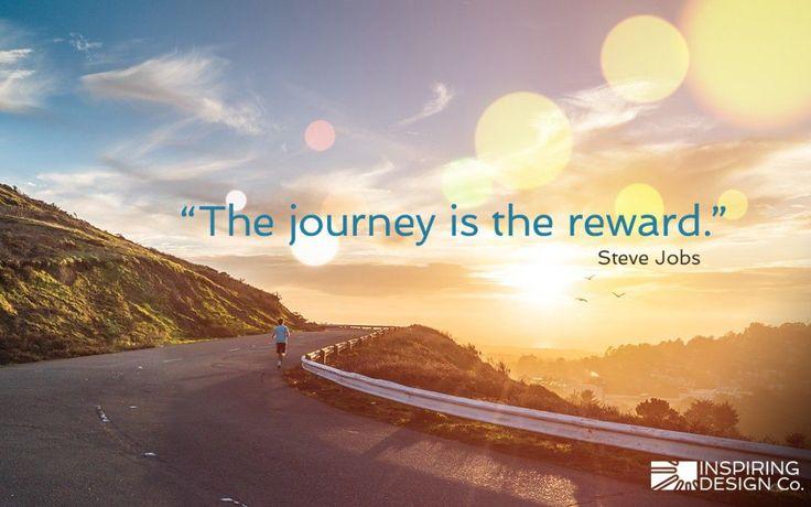 Afbeeldingsresultaat voor The journey is the reward