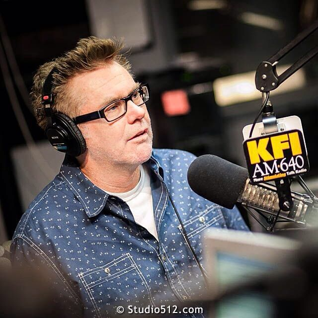 A brilliant stand-up off stage  on air . . . . #BrianRegan #Comedian #StandUp #BTS #FamousBTSMag #Portraits #PhotoJournalism #Reportage #Microphone #Documentary #EditorialPhotography #OnSet #EventPhotography #Celebrity #ProductionStills #Production #SetPhotos #LiveRadio #LiveBroadcast #Broadcast #Broadcasting #KFI #Radio #RadioHost #TimConway #TimConwayJr #OnAir #Comedian #RadioStudio #RadioStation