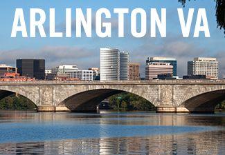 Skyline of Rosslyn in Arlington VA (http://www.c21redwood.com/arlington-va-real-estate).