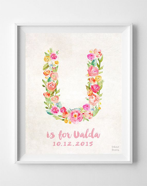 Personalized Prints Personalized Poster Baby by InkistPrints