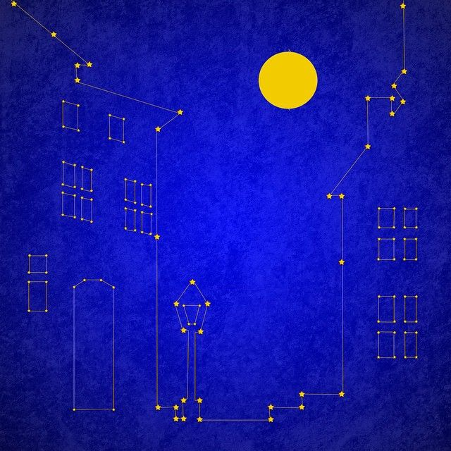 One million years ago the night sky looked completely different... #thisworldis #architecture1o1 #illustration #constellation Illustration: Diana Topan
