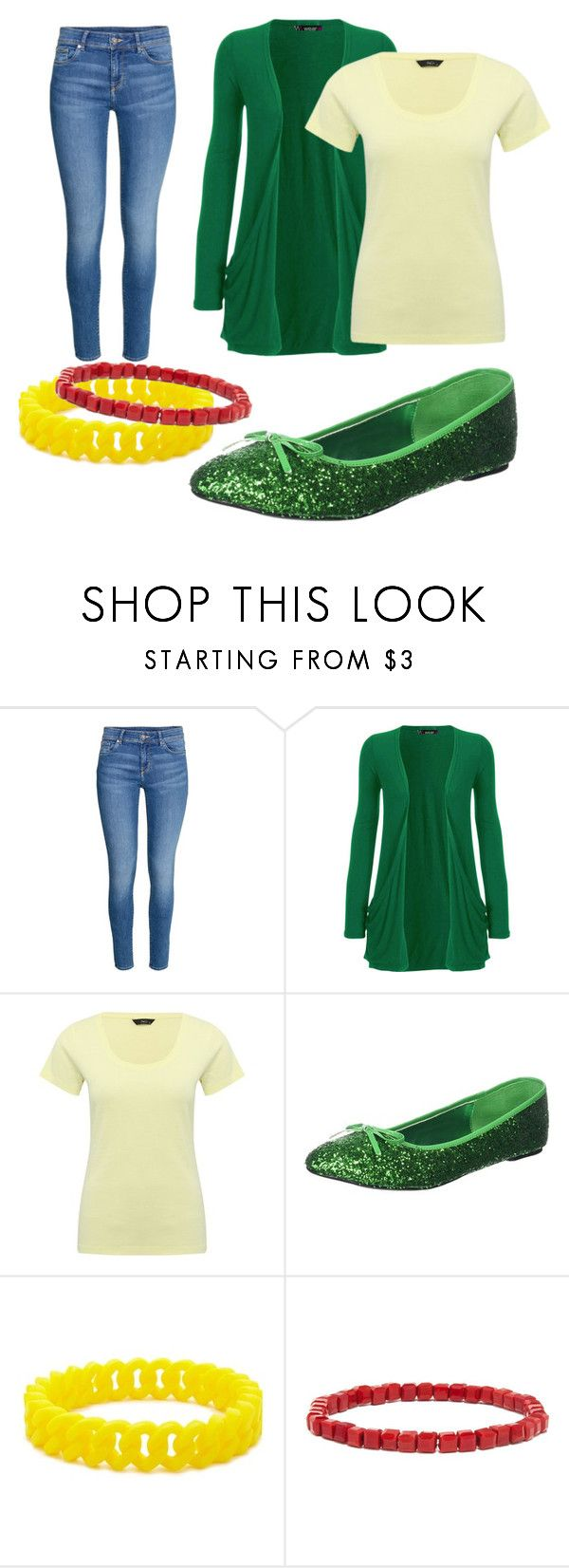 """""""Diamond Lil - Nolan"""" by dawn-currie-adams on Polyvore featuring WearAll, M&Co, Pleaser, Forever 21 and BaubleBar"""