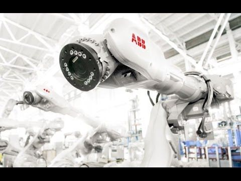 "Latest update from our friends at ABB Robotics - ""The world of robotics has changed dramatically over the past 40 years, and now it is entering a new era. We have a new design and color for the new era of #robotics!"""