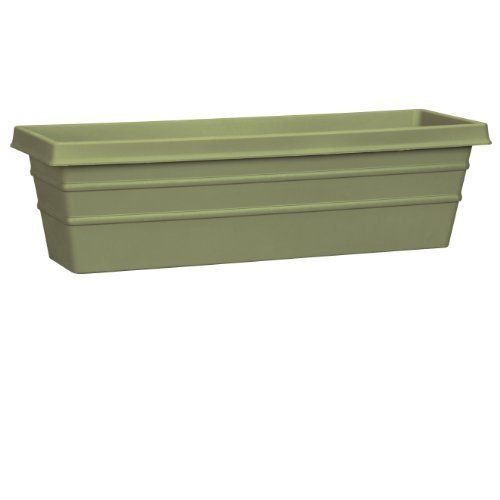 Akro-Mils MSW24000B15 Marina Window Box, Slate Green, 24-Inch by Akro-Mils. $12.87. Marina window box. Durable plastic construction. Available in slate green color. Measures 24-inch length by 6.9-inch height by 24-inch width. This marina window box is durable plastic construction. Available in slate green color. It measures 24-inch length by 6.9-inch height by 24-inch width.