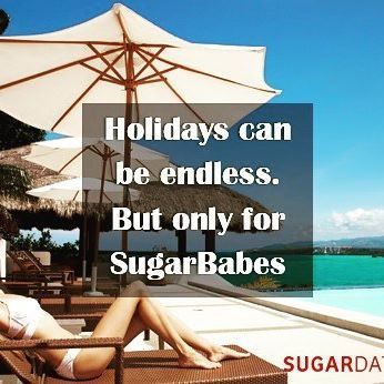 Double tap if you want your holidays to last forever!  #Sugardaddy #sugardaters…