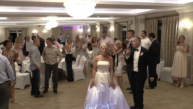 John & Kerry's excellent wedding party at the lovely Beaulieu Hotel. Uplighting matched to their colour scheme and their names projected onto the dancefloor looked amazing and a Laser Show added extra excitement to a dancefloor that was packed all night - DJ Martin Lake