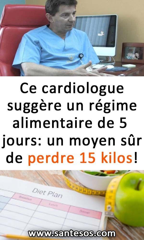 Ce cardiologue suggère un régime alimentaire de 5 jours