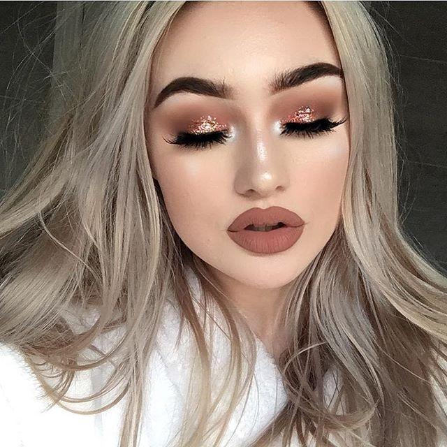 love this makeup look  @jeffreestar @jeffreestarcosmetics lipstick in 'celebrity skin' #jeffreestarcosmetics