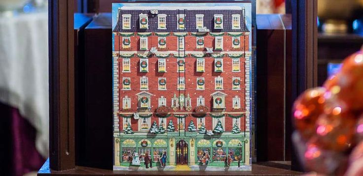 The Fortnum & Mason Musical Wooden Advent Calendar