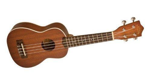 Lanikai Mahogany Soprano Ukulele with Binding by Lanikai. $79.99. The Lanikai Mahogany Soprano Ukulele with Binding has mahogany wood top, back, and sides for a traditonal sound that projects well. With a rosewood fingerboard and bridge, upgraded gold geared tuners, and white binding on the top this Lanikai ukulele offers playability, sound, and aesthetics at a great price. This ukulele is strung with Aquila Nylgut Strings.