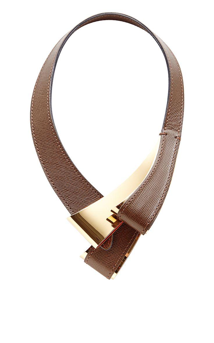 Marni Chain link leather necklace v6BSHgKB