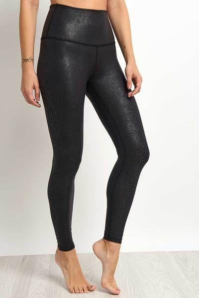 8d44a8c07750a Beyond Yoga | Viper High-Waisted Midi-Legging - Black – The Sports Edit