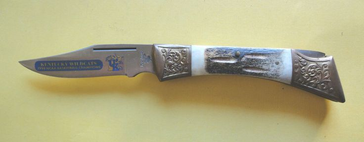 Frost Folding Knife, Kentucky Wildcats 1998 N.C.A.A Basketball Champs Knife   #Frost #FoldingKnife