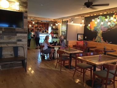 The BYOB restaurant opened today at 5943 Linglestown Road in Lower Paxton Township with a relaxed, modern vibe and locally-sourced menu.