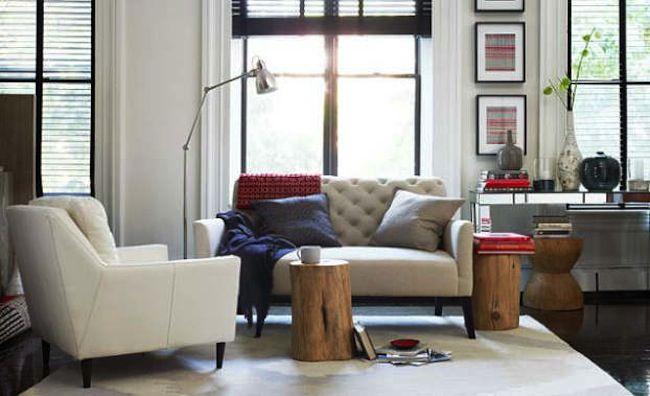 Eco Decor: stylish tables and stools from the stump #eco #decor