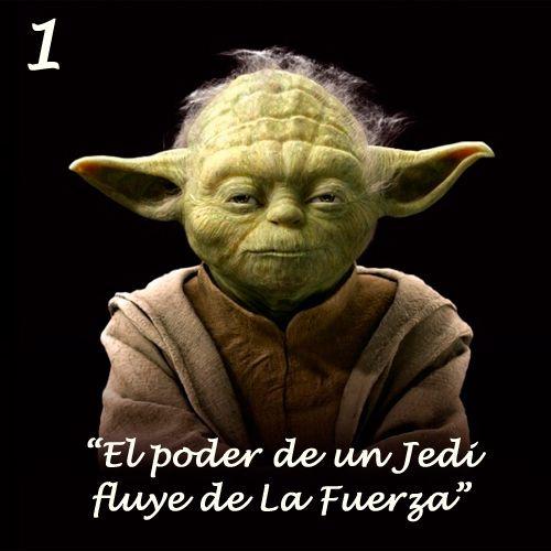 """Después de saber que Disney/LucasFilm podría tener planeada una película en solitario del maestro de Luke Skywalker, te recordamos su decálogo filosófico. Del clásico """"El poder de un Jedi fluye de la Fuerza"""" hasta el indiscutible """"Siempre en movimien"""
