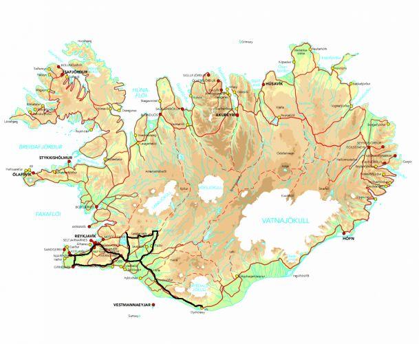 Découvertes des paysages d'Islande Autotour Island Tours