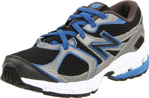 """New Balance KV633 Running Shoe (Little Kid/Big Kid) New Balance. $33.98. Material: Mesh Upper and Rubber Outsole. Width: M. leather. Color: Black. Measurements: 1"""" heel. This shoes / sandals / boots style name or model number is KV633. Rubber sole"""