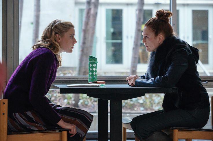 Greta Gerwig y Julianne Moore en Maggie's Plan