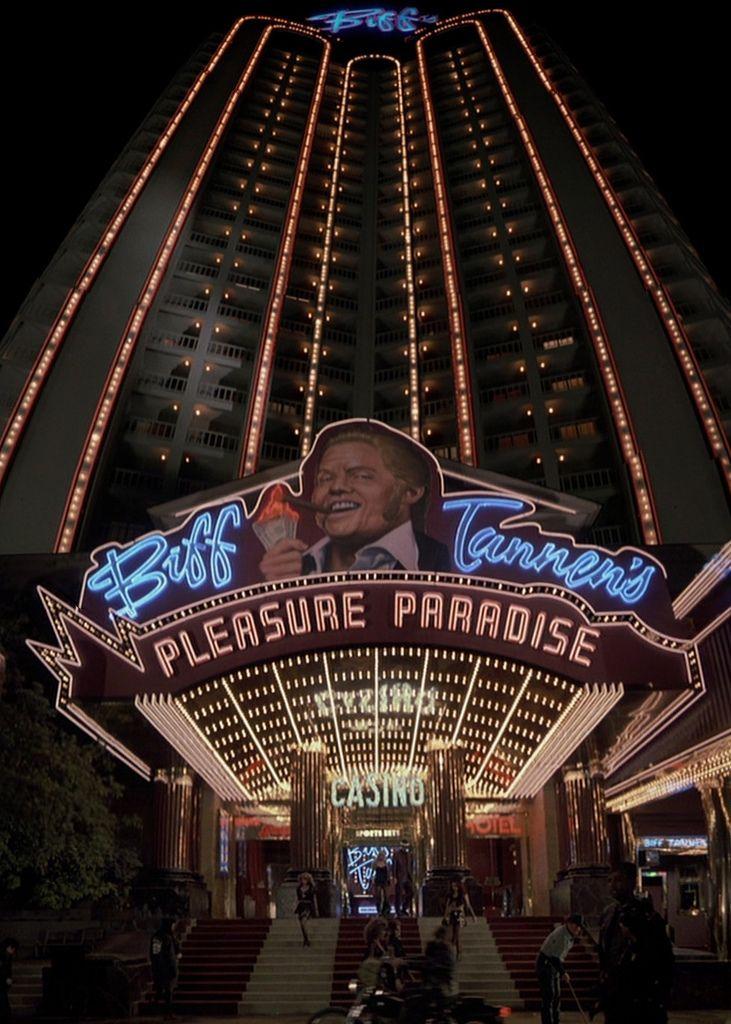 Biff Tannen's Pleasure Paradise #BacktotheFutureII