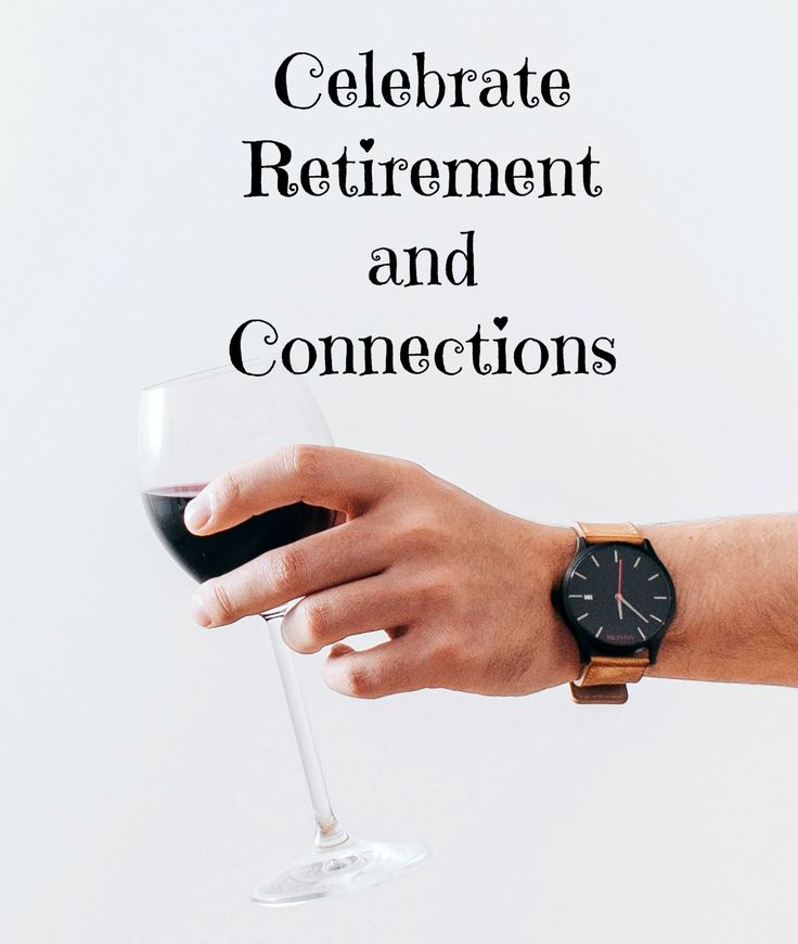 I'm celebrating a new year and creating a new blog. Here's to making a transition to retirement and connecting with others in the same journey.