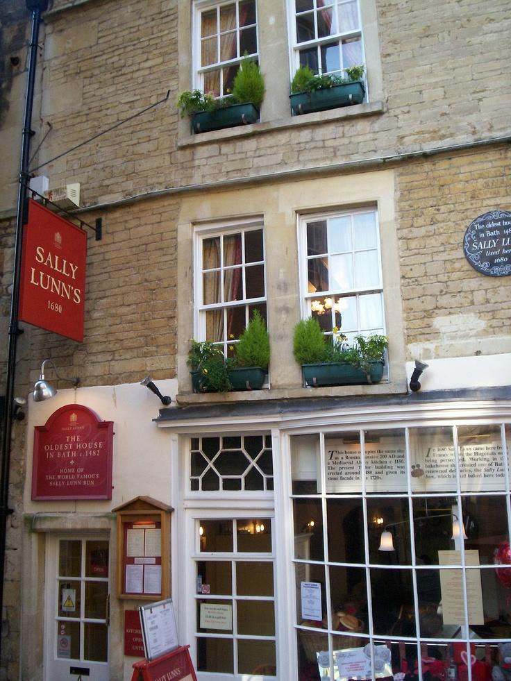 Bath, England.  Sally Lunn where my mum used to work