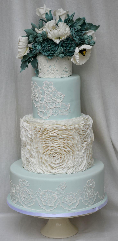 Succulent Wedding Cakes