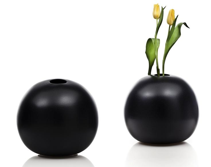 Composizione Bowling nera Ceramiche Bucci