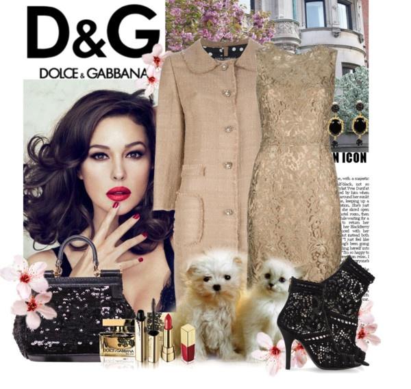 """""""Dolce & Gabbana"""" by franzine ❤ liked on Polyvore"""