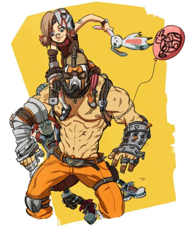 Borderlands 2  /   Krieg , Gaige & Tiny Tina