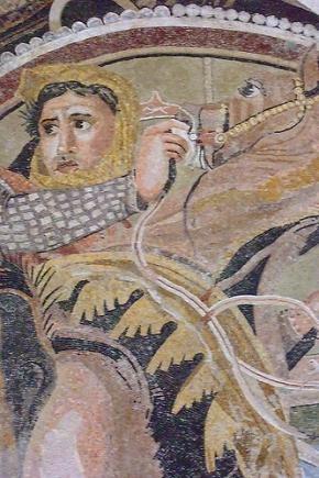 House of the Faun  Pompeii  Italy