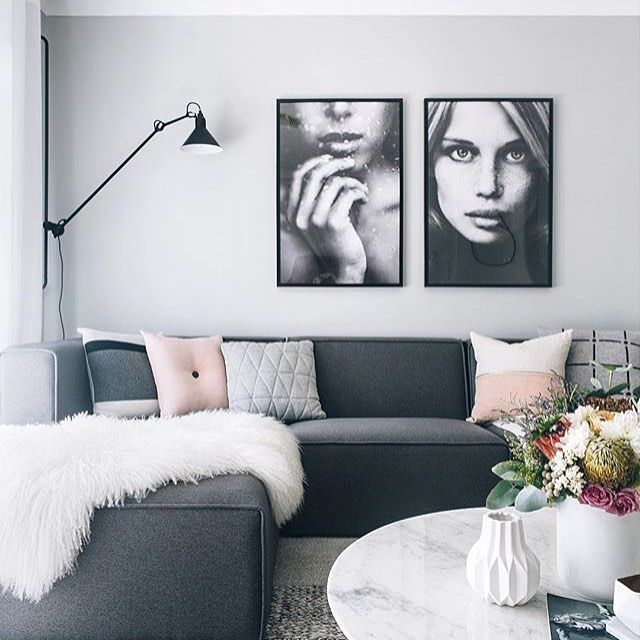 This home by @oh.eight.oh.nine never ceases to amaze us. T, you are a styling genius!!! Via Martine Model poster - Rain & Face 61x91cm $95.00 each (http://www.norsu.com.au/brands/Via-Martine.html?sort=alphaasc)