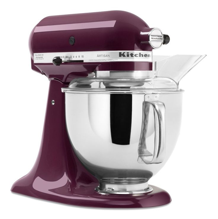 Lovely Purple Boysenberry Mixer With Glass Bowl. KitchenAid Artisan Mixers  Are Quite Popular.