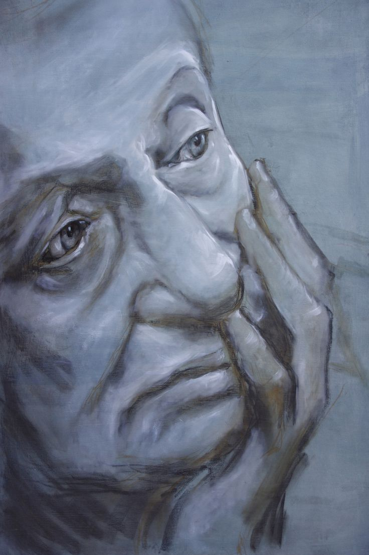 "Lidia Zdzieszyńska, ""Solitude"", oil on canvas, 80/120cm, 2016"