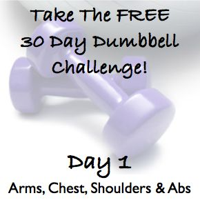 nike free flyknit 4 0 Sculpt The Body Of Your Dreams With The 30 Day Dumbbell Challenge   DAY 1   30 Day  Challenges and The Body