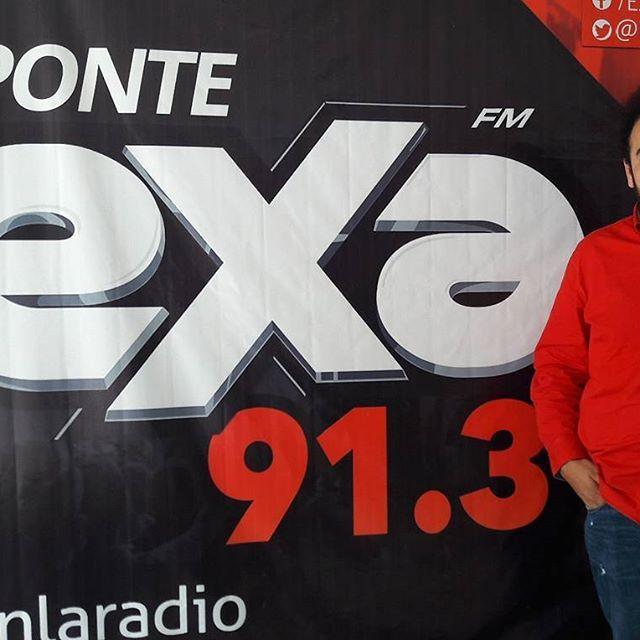 """Reposting @polorojasg: Saliendo de Entrevista! escuchando """"Hasta Aquí"""" #ExaEstreno #newsingle #Cordoba #Veracruz #Music  #musicians"""