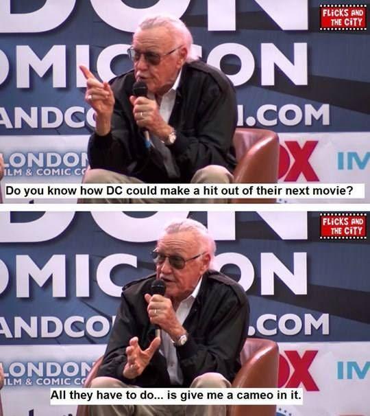 Stan Lee... Cameo Addict