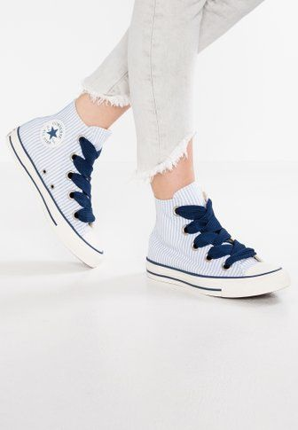 167fcfa2983c1 Chaussures Converse CHUCK TAYLOR ALL STAR BIG EYELETS - Baskets montantes -  pure platinum light