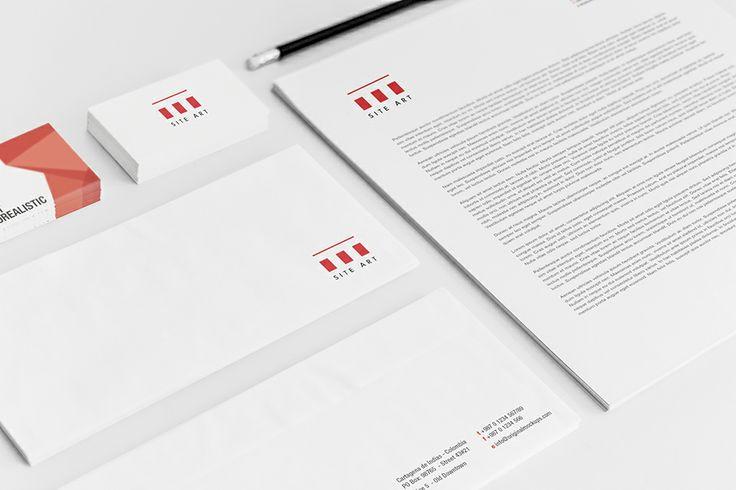 Site Art identity design by @Dekoratio Brand Studio