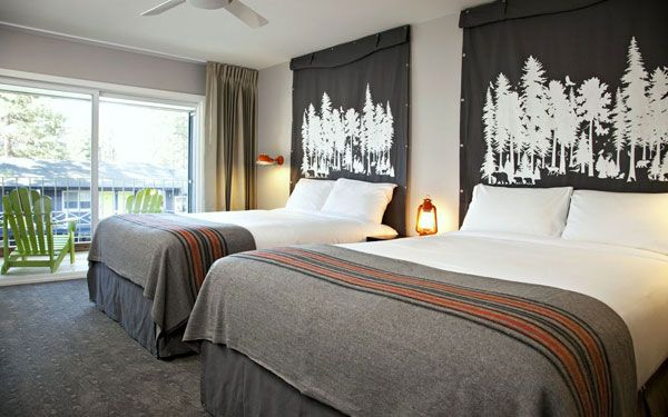 Basecamp Hotel South Lake Tahoe.  $132/night weekends in October.  Very close to Stateline.  Walking distance to Lakeshore