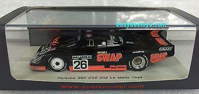 1/43 SPARK S4171 PORSCHE 956 LE MANS 24HR 1972 #26 resin model car SWAP SHOP