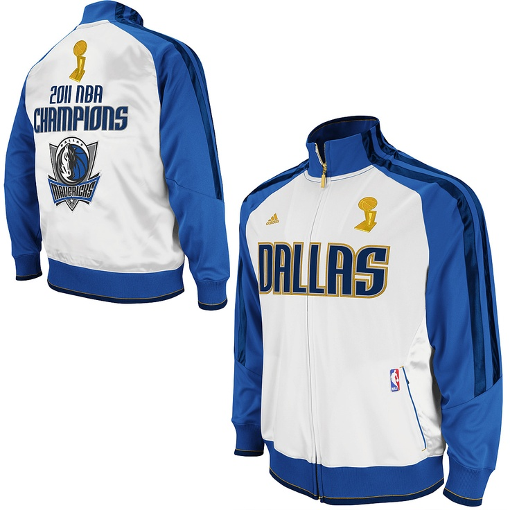 Nwt Adidas Nba Denver Nuggets Vintage Retro Jacket Coat: Adidas Dallas Mavericks 2011 NBA Champions Banner Track