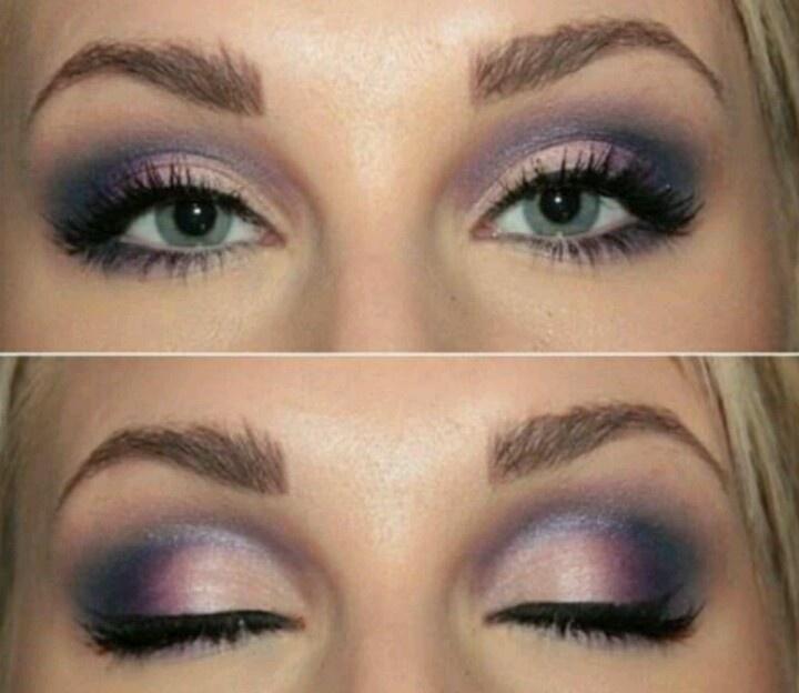 Light purple Smokey eye   Makeup   Pinterest   Eyes ...