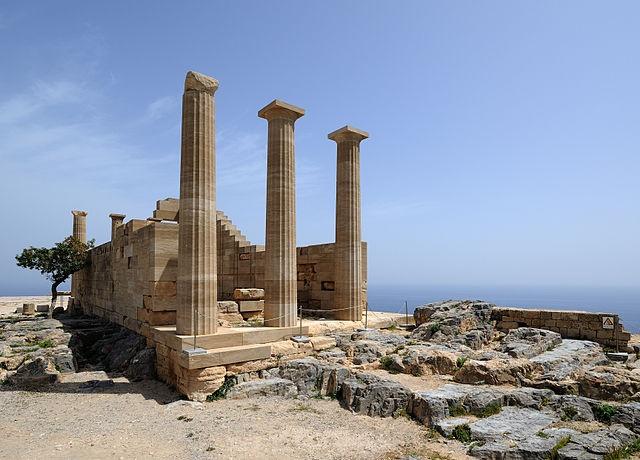 Doric Temple of Athena Lindia.