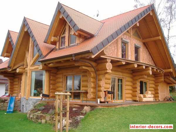 (Stunning Log Home Design) Has Been Published On Home Decoration Ideas |  Daily Home