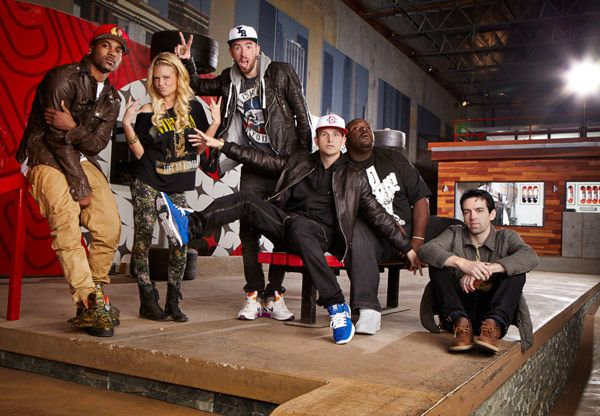 my latest tv obsession Fantasy Factory! Cast of Season 5: @rob roberts @SteeloBrim @Sami Tobias @Jessica Perrine @Drama @_BIGCAT