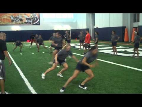 Auburn Softball 8-25-2011 Agility and Conditioning Workout