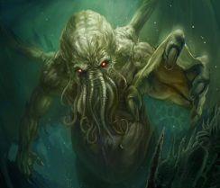 Modelo celentéreo Este modelo lo observamos en la pelicula de  Jhon Wyndham en the things from the deep, este alienígena tiene foma de medusa con tentáculos, estos seres arrastran con todo lo cercano a las costas